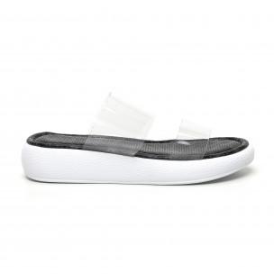 Papuci de dama Bodrum gri