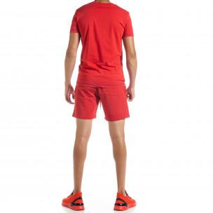 Set sportiv roșu pentru bărbați Compass  2