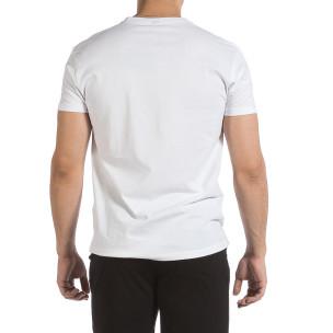 Tricou bărbați Givova alb 2