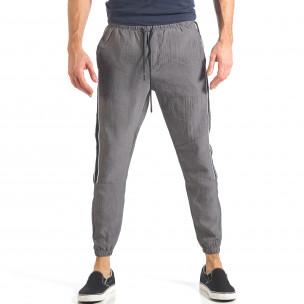 Pantaloni sport bărbați Giorgio Man gri 2