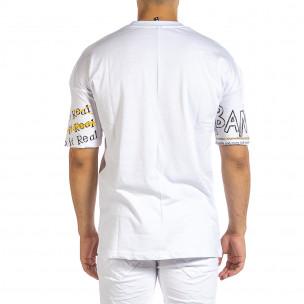 Tricou bărbați Maksim  alb  2