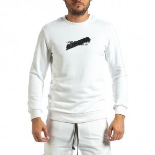 Bluză bărbați Breezy albă