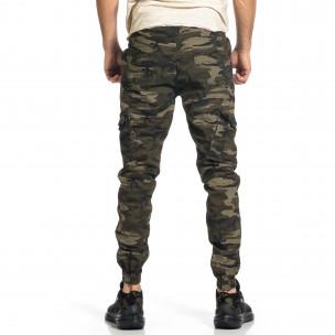 Pantaloni cargo bărbați Blackzi camuflaj 2