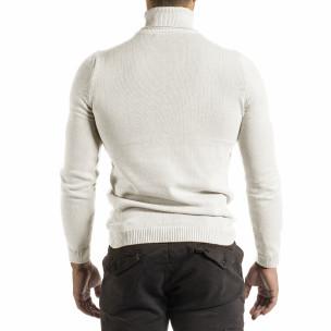 Pulover bărbați Lagos alb 2