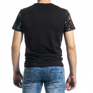 Tricou bărbați Jamez negru  2