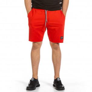 Pantaloni scurți bărbați Clang roșii
