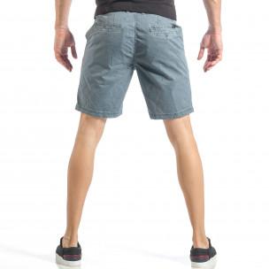 Pantaloni scurți pentru bărbați albaștri cu puncte 2