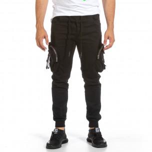 Pantaloni bărbați Yes Design negri