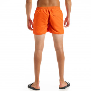 Costume de baie bărbați Basic orange 2