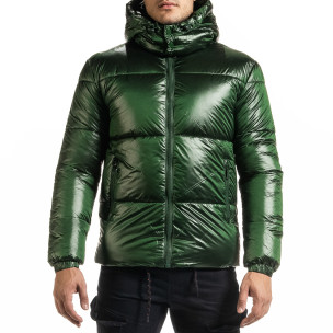 Geacă de iarnă bărbați Duca Homme verde