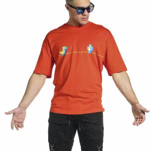 Tricou bărbați Breezy roșu