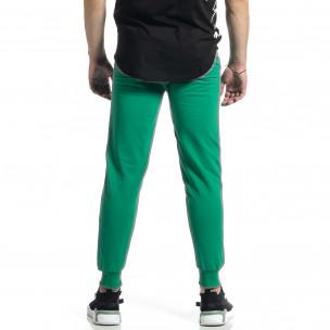 Pantaloni sport bărbați Soni Fashion verde 2