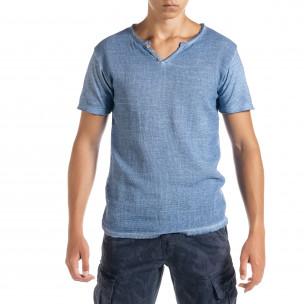 Tricou bărbați Duca Homme albastru