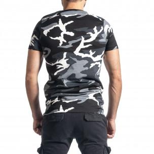 Tricou bărbați Lagos camuflaj  2