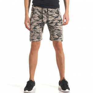 Pantaloni scurți bărbați Flex Stey camuflaj