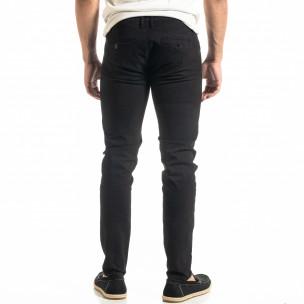 Pantaloni bărbați Bruno Leoni negri 2