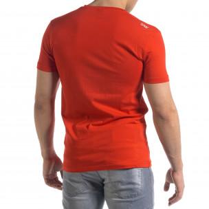 Tricou bărbați SAW roșu  2