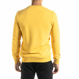 Bluză bărbați Clang galbenă  2