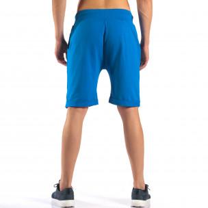 Pantaloni scurți bărbați Black Fox albaștri  2