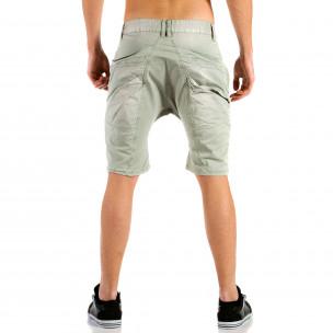 Pantaloni scurți bărbați X-three gri  2