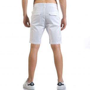 Pantaloni scurți bărbați Marshall albi 2