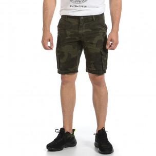 Pantaloni scurți bărbați J.Sette camuflaj  2