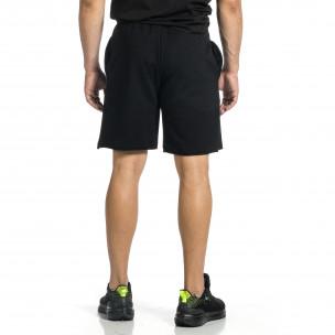 Pantaloni scurți bărbați Breezy negri  2