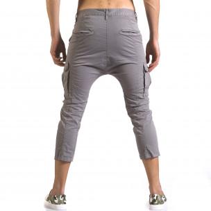 Pantaloni bărbați XZX-Star gri  2