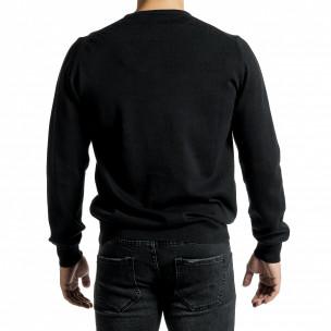 Pulover bărbați Code Casual negru 2