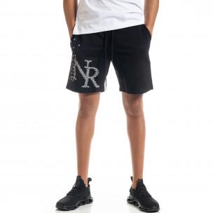 Pantaloni scurți bărbați North's negri
