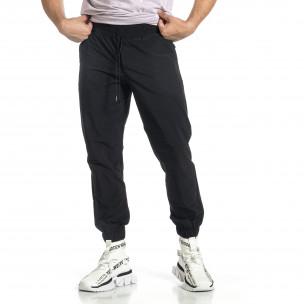Pantaloni sport bărbați Breezy negru