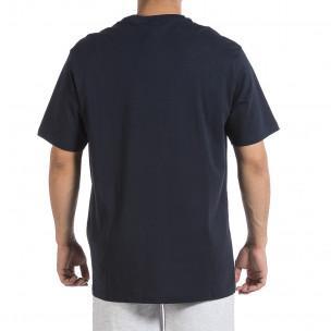 Tricou bărbați Givova albastru  2
