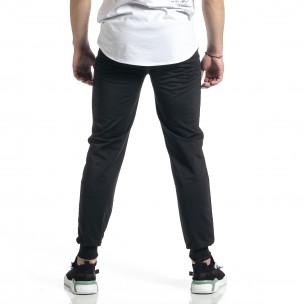 Pantaloni sport bărbați Feel negru 2