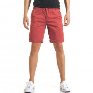 Pantaloni scurți bărbați Bread & Buttons roșii
