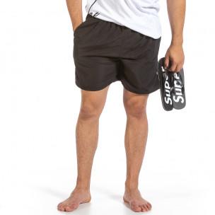 Costume de baie bărbați Yaliishi negru