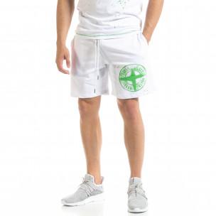 Pantaloni scurți bărbați North's albi