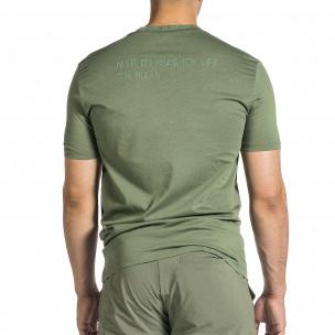 Tricou bărbați Breezy verde 2