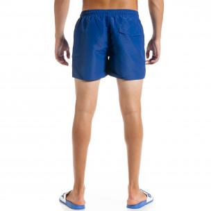 Costume de baie bărbați Basic albastru  2