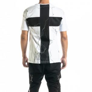 Tricou bărbați Black Island alb 2