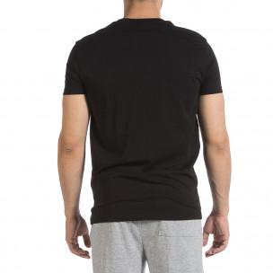 Tricou bărbați Sweet Years negru 2