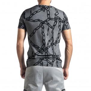 Tricou bărbați Lagos gri 2