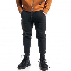 Pantaloni sport bărbați Alkimia negru