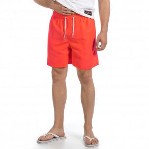 Costume de baie bărbați Black Number orange  2