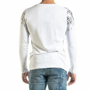 Bluză bărbați Lagos albă 2