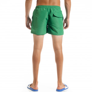 Costume de baie bărbați Basic verde  2