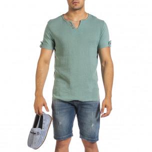 Tricou bărbați Made in Italy verde