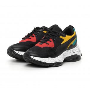 Pantofi sport de dama colorați Chunky 2