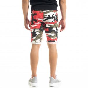 Pantaloni scurți bărbați Alpini Firenze camuflaj 2