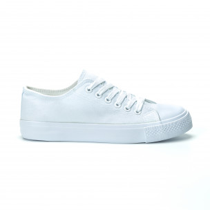 Teniși albi pentru dama