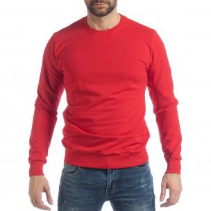 Bluză Basic roșie pentru bărbați